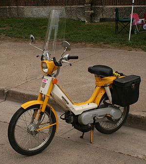Late 70's Moped