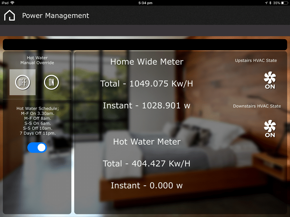 Energy monitoring helps you know if your home is running smarter and more efficient in real time as you use your home system.