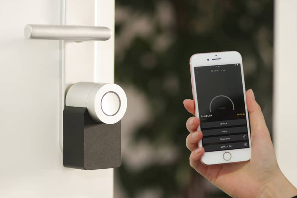 Get access fast - Control your lock and security from any place with a network.